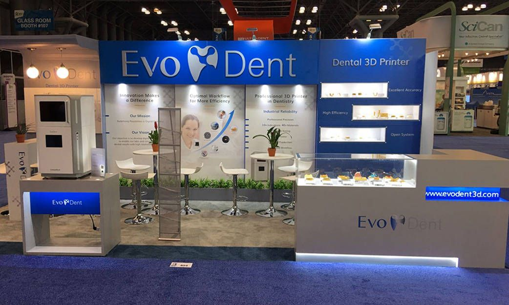 Groov'n Graphx & XBIT Designed a booth for EvoDent