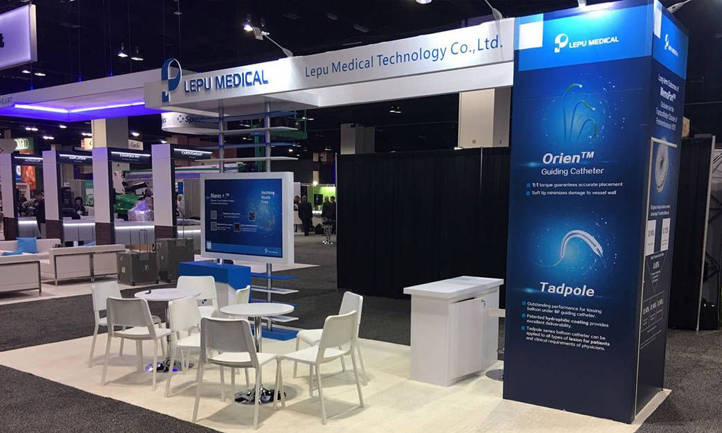 LEPU Medical Trade Show Booth