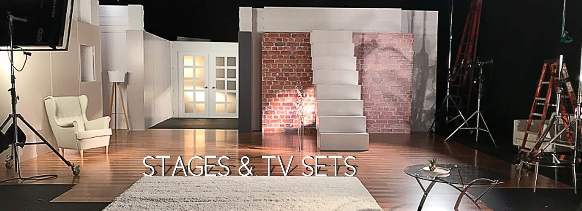 Sceneries And TV Sets